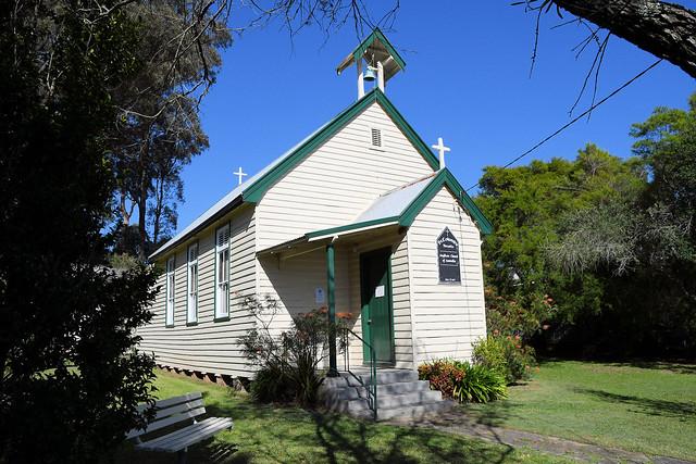 St Columb's Anglican Church, Arcadia, Sydney, NSW.