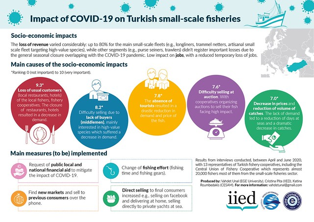 Impact of COVID-19 on fisheries