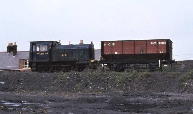 NCB East Hetton, Hunslet 5304, 1981