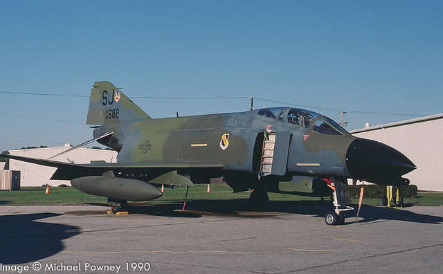 64-0682 - 1964 fiscal McDonnell Douglas F-4C Phantom II, in ground instructional use at Seymour Johnson AFB during the 1990 Community Appreciation Day