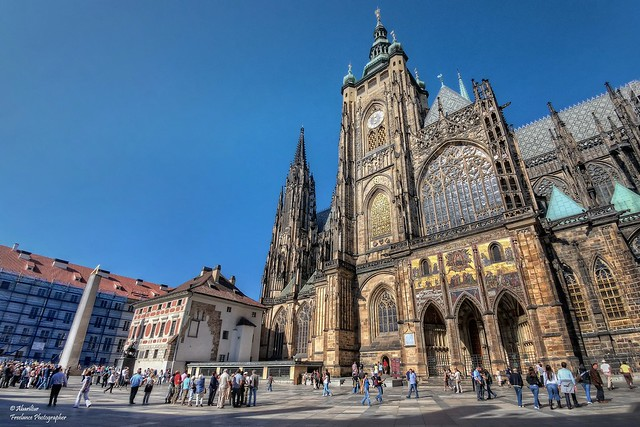 Saint Vitus Cathedral (III). Prague