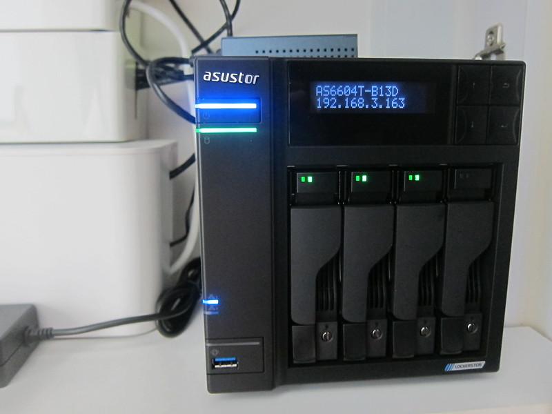 ASUSTOR AS6604T - LCD - IP