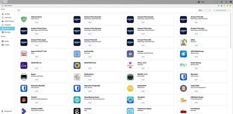 ASUSTOR ADM - App Central
