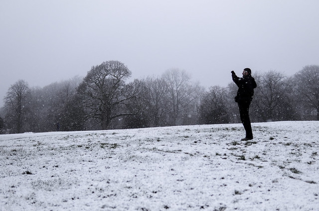 Heaton Park Snow
