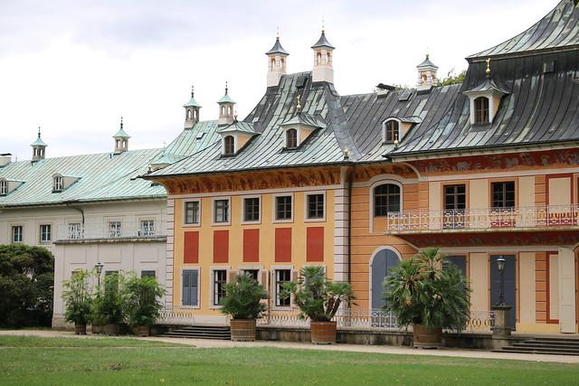 Dresden: Schloss Pillnitz - Bergpalais