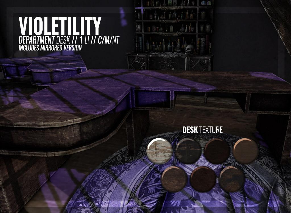 Violetility – Department Desk
