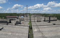Pamestas daudzstāvu daudzdzīvokļu ēkas jumts, 22.06.2020.