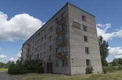 Pamesta daudzstāvu daudzdzīvokļu ēka, 22.06.2020.