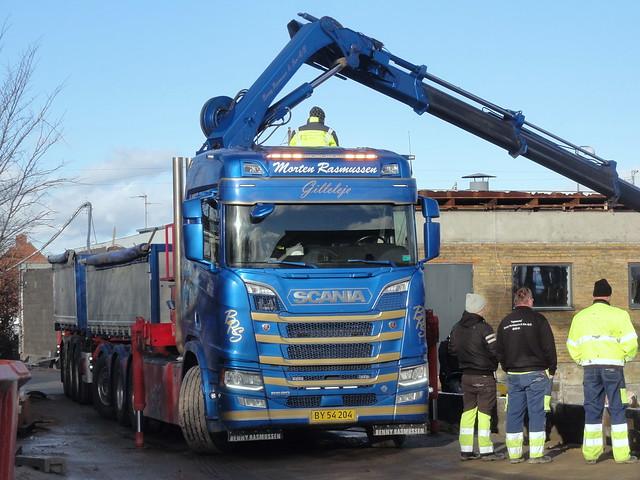 ´´Smurf´´ Next Generation Scania R520 v8 BY54204