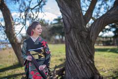 Portrait in Kimono