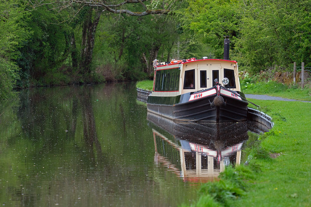 Reflections of a Narrow Boat