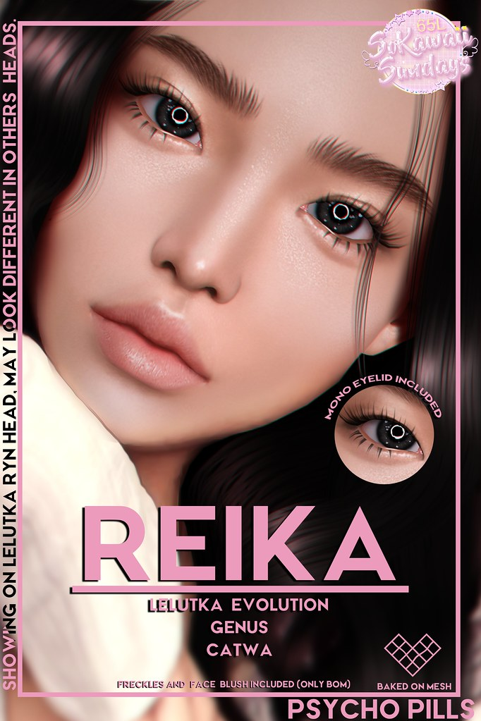 Reika Skin at #SoKawaiiSundays
