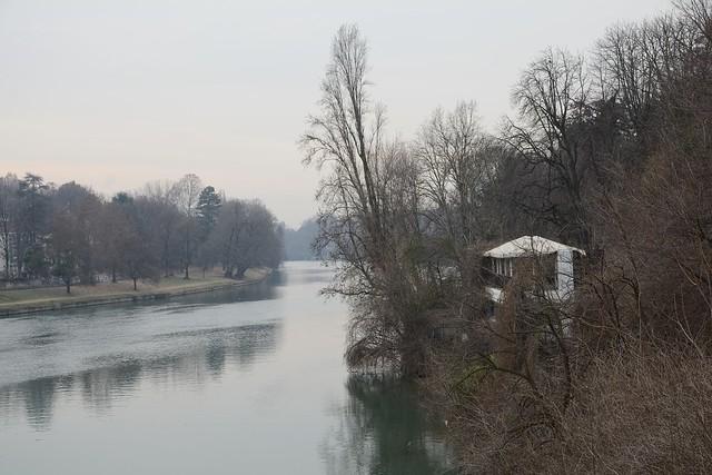 DSC_2307_6545 - Il Po dal ponte Umberto I - The river Po from the Umberto I bridge.