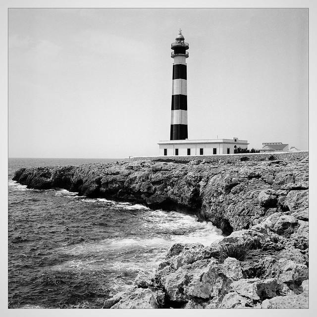 Leuchtturm am Cap d'Artrutx/Menorca