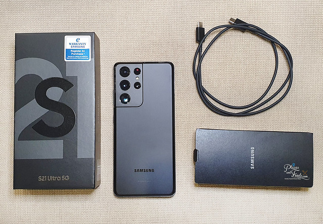 samsung s21 ultra inside the box