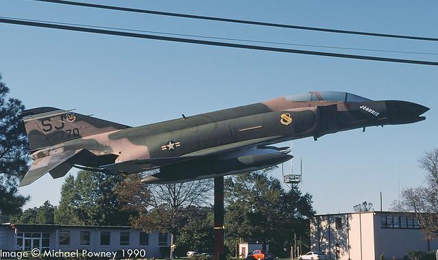 64-0770 -  1964 fiscal McDonnell Douglas F-4C Phantom II, preserved/displayed at Seymour Johnson AFB