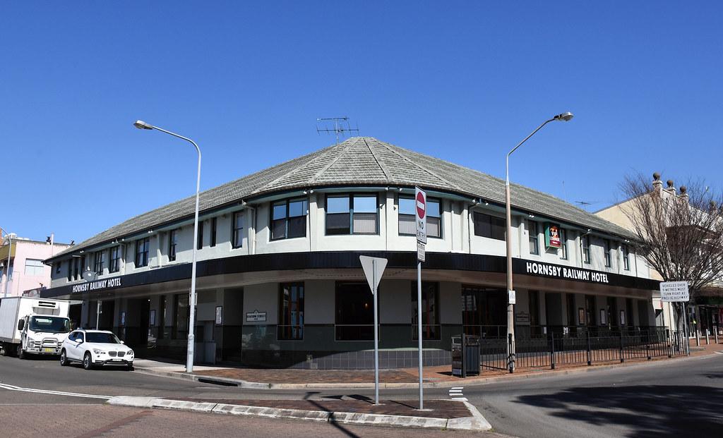 Hornsby Railway Hotel, Hornsby, Sydney, NSW.