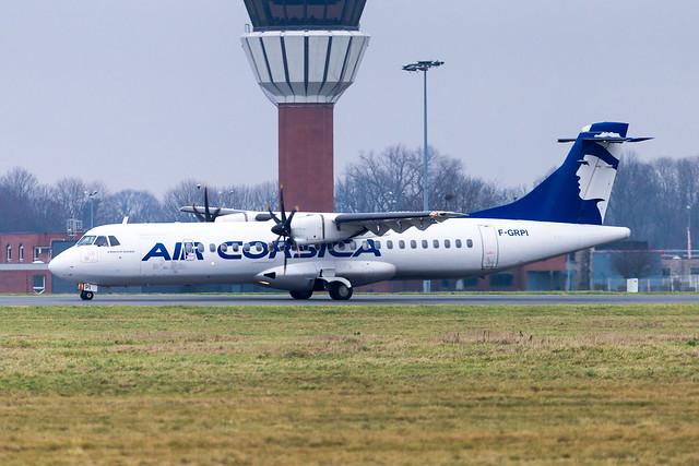LIL - ATR 72-500 (F-GRPI) Air Corsica