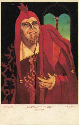 Benvenuto Franci in the Verdi opera Rigoletto