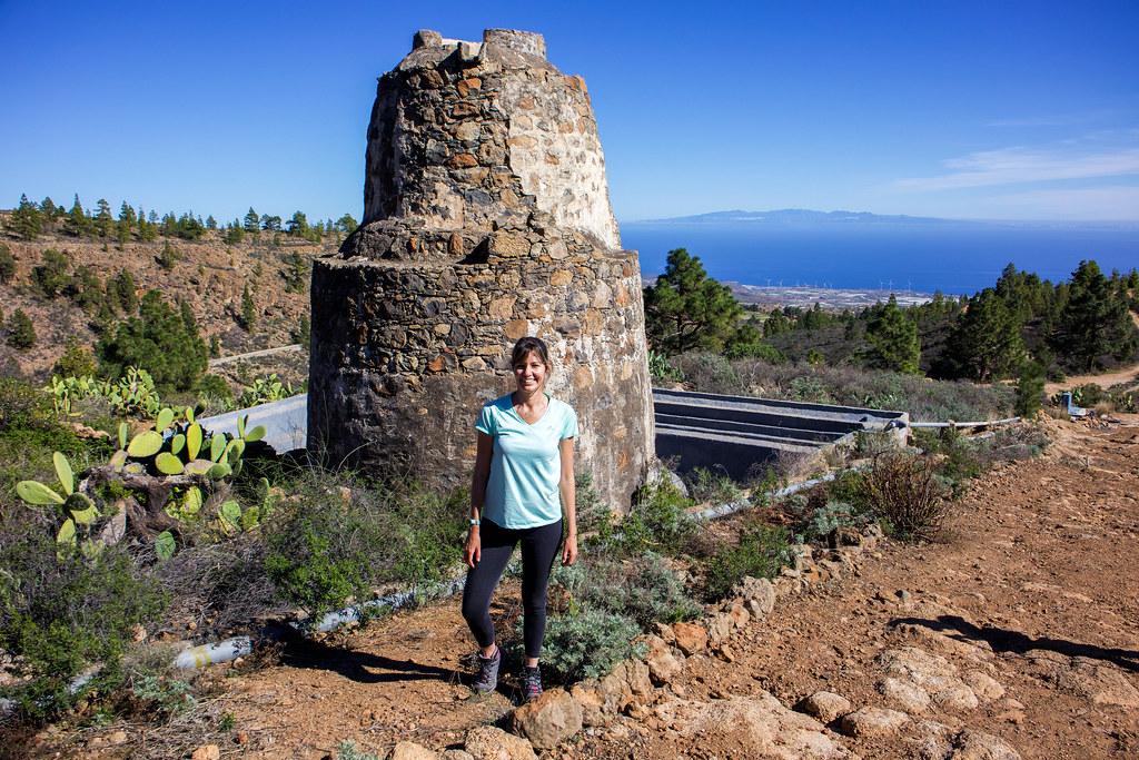 Molino de Agua en Las Vegas en Tenerife