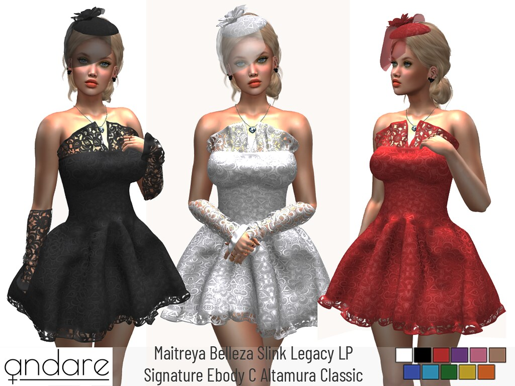 Andare – Felecia Dress & Sleeves & Hat FATPACK