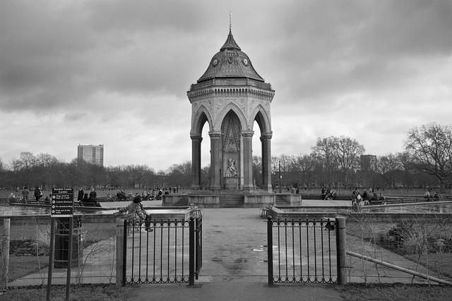 Burdett Coutts Fountain, Victoria Park
