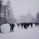 Calle de Alcalá, Madrid 2021-01-09