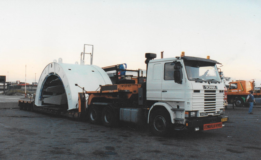 Scania 142E Van der Vlist [photoscan]