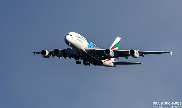 A380 A6-EVH   Bredbury