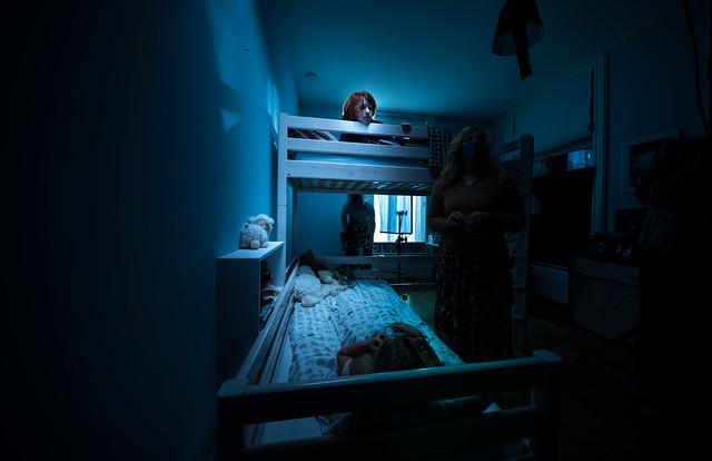 Spooky scene.