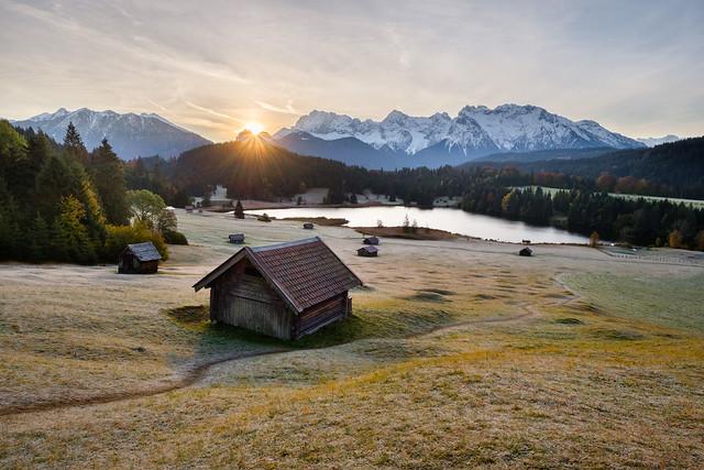 Geroldsee Sunrise, Bavaria
