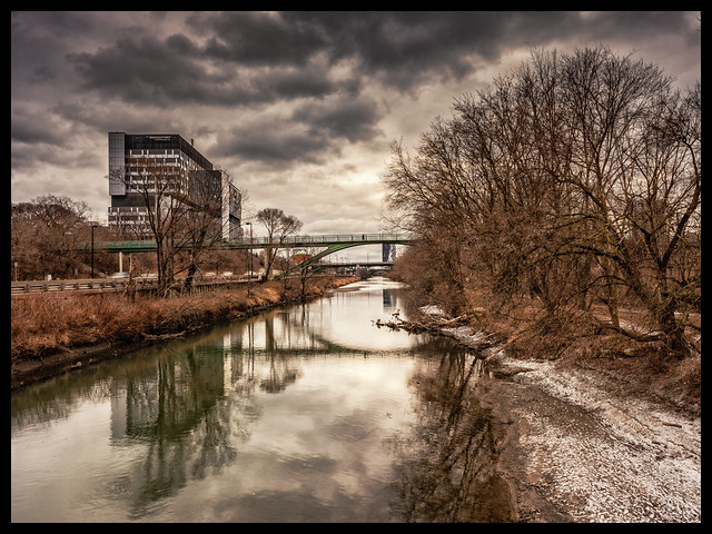 Don River waiting for Snow