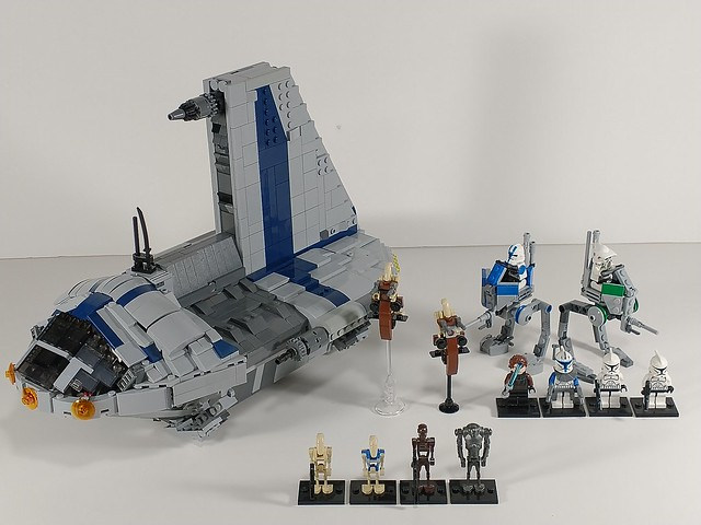 Lego Star wars prequel era builds