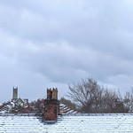 Wintery Preston rooftops