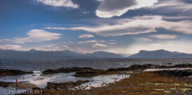 Isle of Sky before sunset, Scotland