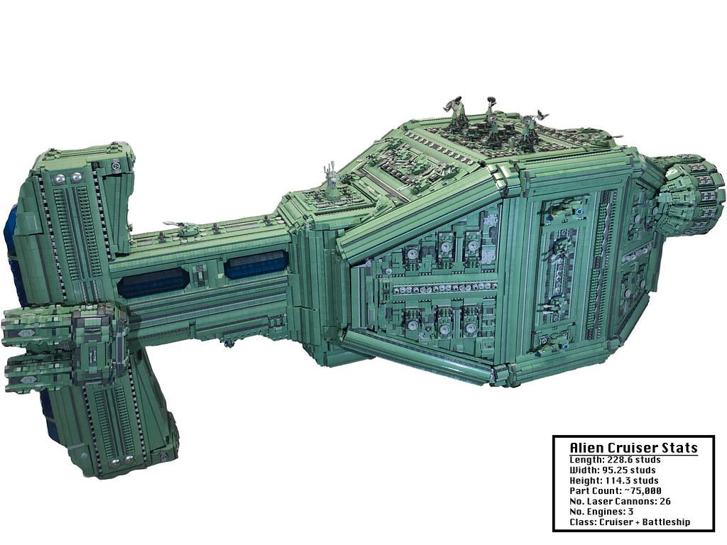Alien Cruiser MOC