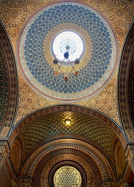 Ceiling, Spanish Synagogue