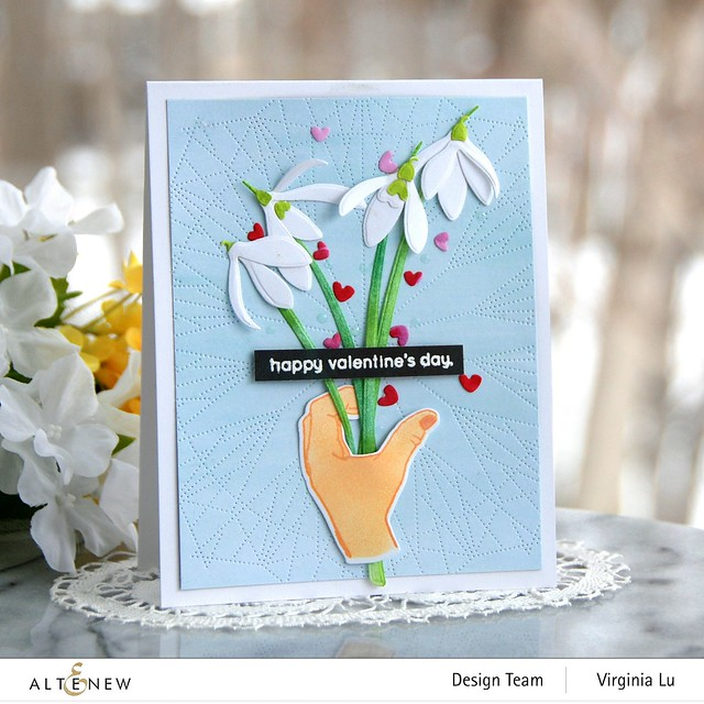 01242021-A Little Bit of Love-Dotted Lines Cover Die-CAF CAF SnowDrops-Enjoy the Ride Paper Pad