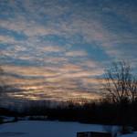 23. Jaanuar 2021 - 8:23 - Sunrise and snow.    IMG_20210123_082359534