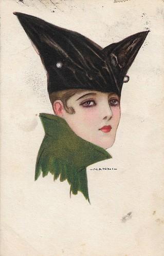 Bat-like hat (First World War)