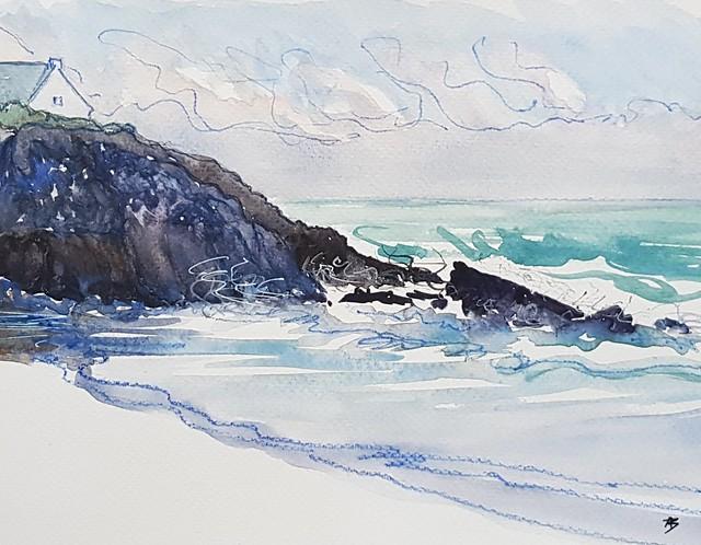 Le Pouldu - plage des Anglais