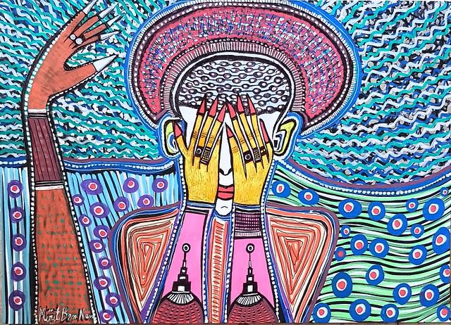 ישראל אמנות ציור מירית בן-נון יוצרת מודרני עכשווי