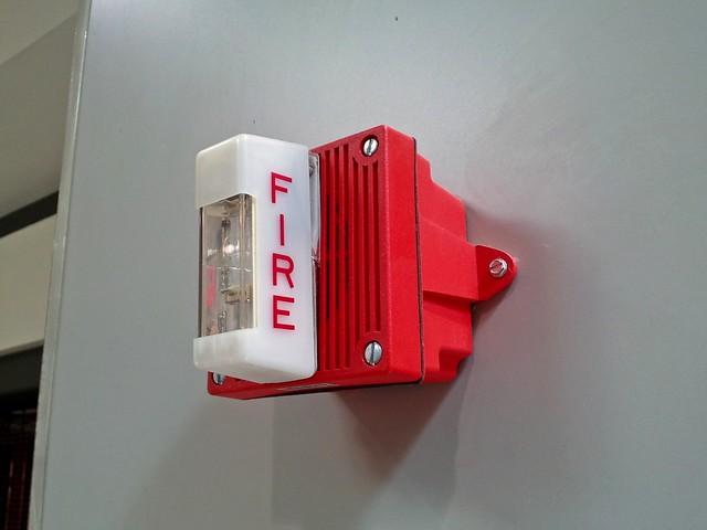 Fire alarm at Staunton Mall