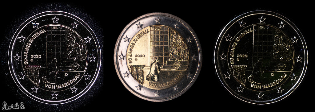 2-Euro-Kniefall-Collage