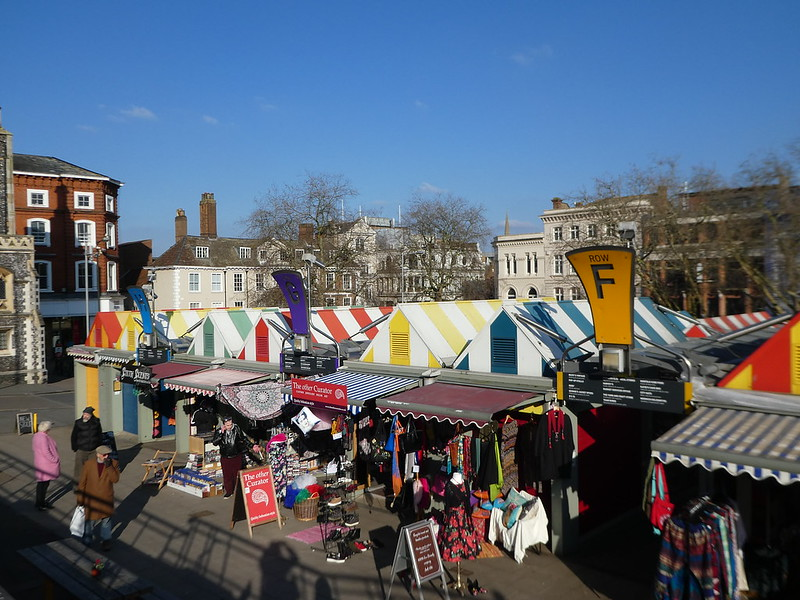 Outdoor Market, Norwich