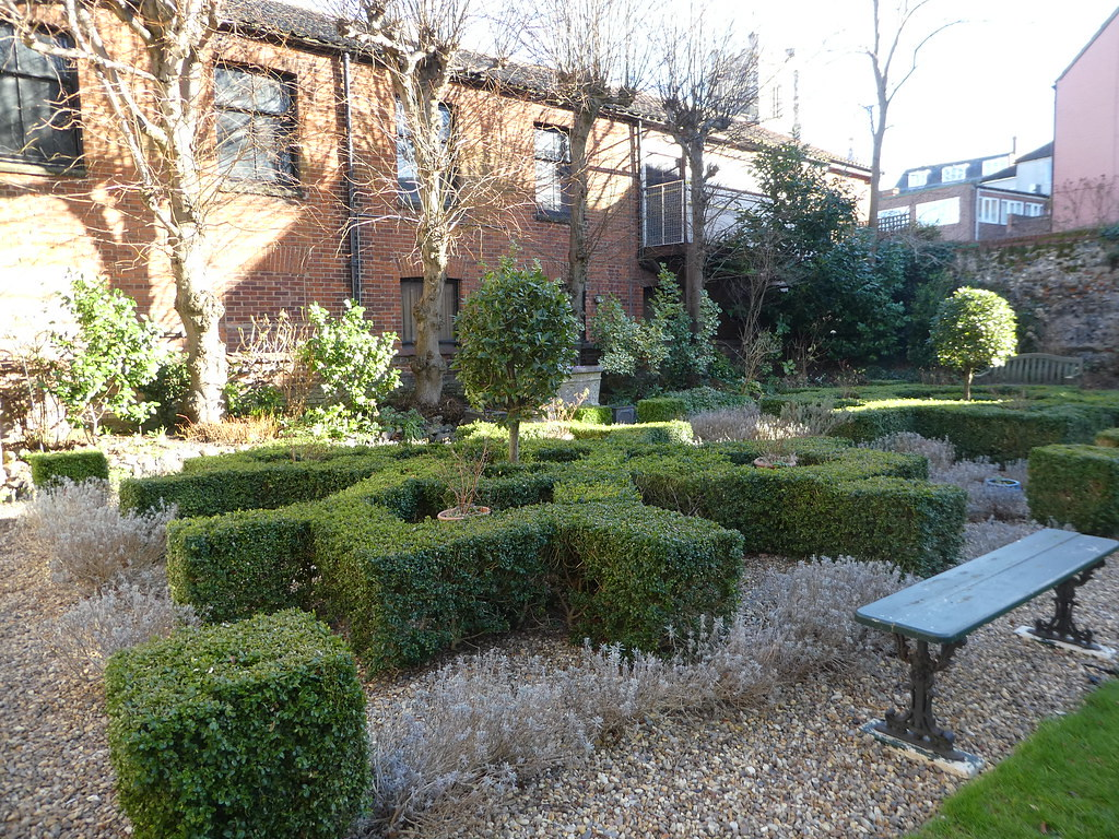 The Garden, Stranger's Hall, Norwich