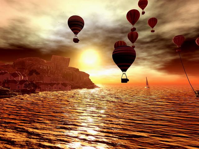 Lavender Lake Balloon Festival - Sunrise Dreams
