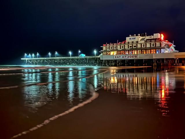 Daytona Beach Pier,  1200 Main Street, Daytona Beach, Florida, USA / Built: 1925 / Original Owner: Jeter McMillan / Length: 1000 feet / Architectural Style: Victorian