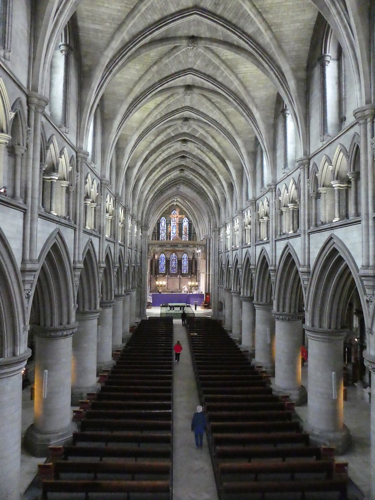 View from Crossing Balcony, Norwich Catholic Cathedral