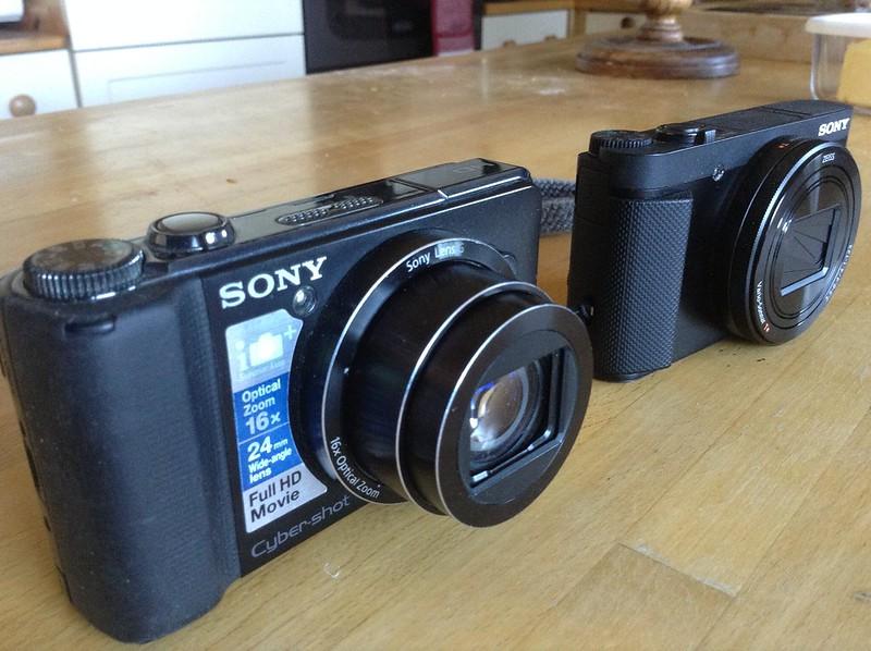 Old camera, New camera